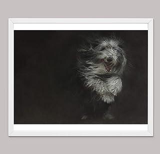 Regali di Cane Pastore Inglese Per Gli Amanti Dei Cani, Stampe su Tela di Poster Varie Dimensioni, Decorazione Della Paret...