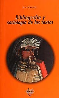 Bibliografía y sociología de los textos