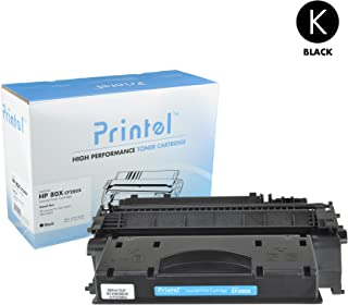 Printel Replacement Toner Cartridge for HP 80X (CF280X) Black
