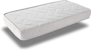 Home Heavenly® - Colchón de Cuna VISCOBEBE colchón viscoelástico con Tratamiento antiácaros, hipoalergénico en Fibra Natural, Tejido 3D Transpirable Gran suavidad, fabricación Nacional. (60_x_120_cm)