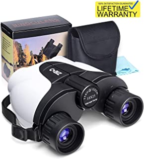 Kids Binoculars,10x25 (not 8x21) Outdoor Binoculars for Kids, (BAK4 Prism) Folding Spotting Telescope for Bird Watching, Camping and Hunting,Best Christmas Children Gifts for Boys and Girls