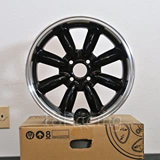 ROTA RB WHEELS 16x7 PCD: 4x100 OFFSET: 40 HB:56.1 BLACK WITH POLISH LIP