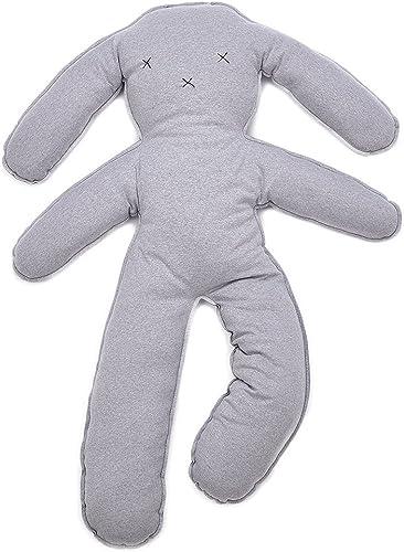 RONG-- Géant Animaux Mignons Poupée Enfants Doux Moelleux Peluches Animal Lapin Oreillers Coussin Cadeau d'enfant en Jouet,gris, 150  110  13 Cm   59  43  5In