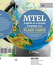 MTEL English as a Second Language (54) Flash Cards Book: Test Prep Review with 300+ Flashcards for the MTEL ESL Exam