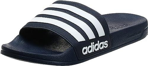 Adidas Cloudfoam Adilette Chaussures de Plage & Piscine, Homme ...