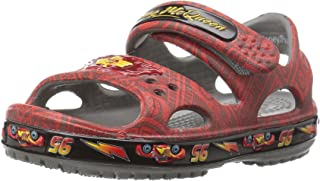 Crocs Kids' Cars Lightning McQueen Sandal