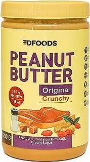 DFOODS Original Crunchy Peanut Butter (1.25 KG - 1250 Grams)