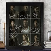 The Walking Dead Signed Autographed Photo 8X10 Reprint Rp Pp - Norman Reedus, Andrew Lincoln, Lauren Cohan, Danai Gurira, Steven Yeun & Others