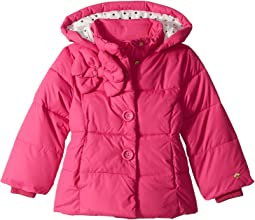 Bow Puffer Coat (Toddler/Little Kids)