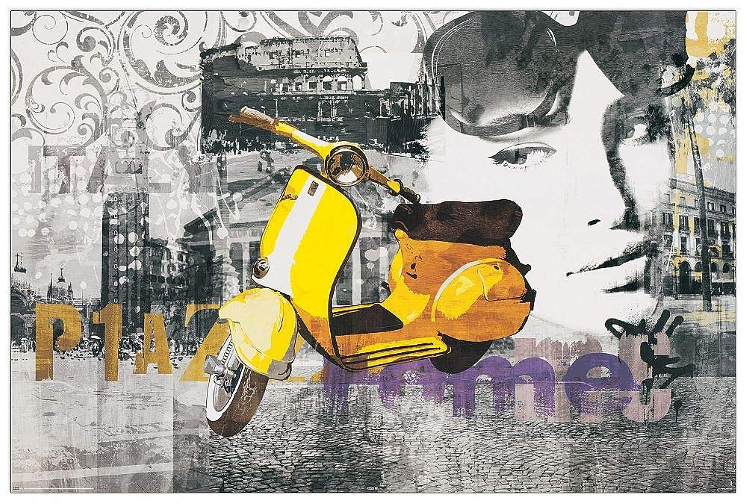 Artopweb TW21589 Decorative Panel 35.5x23.5 Inch Multicolored