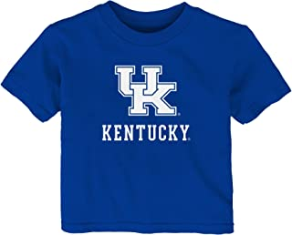 Outerstuff NCAA Kentucky Wildcats Infant Primary Logo Short Sleeve Tee, 12 Months, Royal