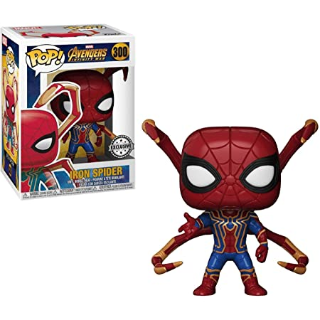 Funko Pop Movies: Avengers Infinity War Iron Spider with Legs Vinyl Exclusive