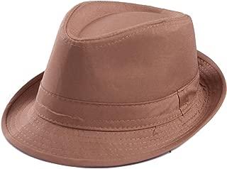 Kid's Short Brim Trilby Fedora Hat