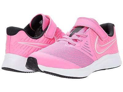 Nike Kids Star Runner 2 (Little Kid) (Pink Glow/Photon Dust/Black/White) Kids Shoes