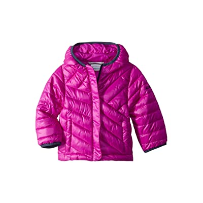 Columbia Kids Powder Litetm Puffer (Little Kids/Big Kids) (Bright Plum/Nocturnal) Girl