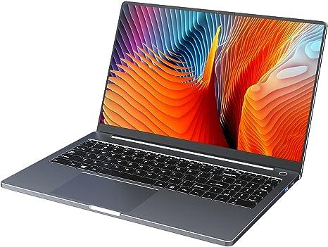 KUU G3 15.6 inch Laptop, AMD Ryzen 5 4600H Six-core Processor up to 4.0 GHz CPU Window 10 16GB DDR4 RAM 512GB SSD Full-Size Narrow Bezel Backlit Keyboard HD IPS Screen Thin Portable Computer Notebook