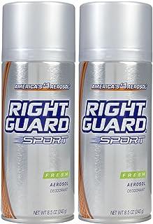 Right Guard Sport Aerosol Deodorant, Fresh, 8.5 oz, 2 pk