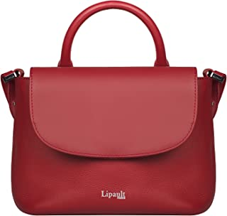 Lipault - Plume Elegance Mini Handle Bag - Small Top Handle Shoulder Crossbody Handbag for Women - Ruby