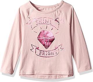 Gymboree Girls' Big 3/4 Sleeve Raglan Graphic Tee