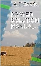 PRAYER SOLUTION MANUAL