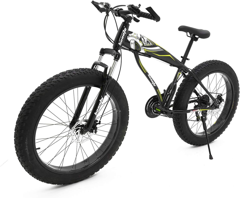 hosote Fat shop Tire Mens Mountain Bikes 26 Wheels 7 21 S Speed inch Popular overseas