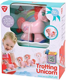 Playgo Trotting Unicorn Educational Activity Toy, Multi-Colour, 2348