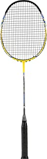 Spinway Professional Light Weight Graphite Badminton Racket Tornado Control M1 for High Speed Performance with Full Cover Bag