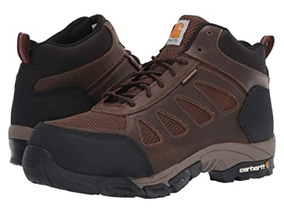 Carhartt Lightweight Waterproof Hiker Carbon Nano Comp Toe (Brown Leather) Men