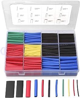 Eventronic ET1002 krimpkousenset, 5 kleuren, 12 maten, 560-delig