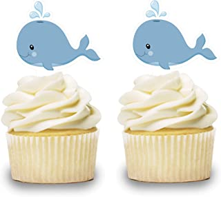Baby Shower Winter Wonderland Party decoration Penguin cupcake toppers Baby gender reveal party deco 1st Birthday Cupcake toppers