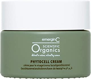 emerginC Scientific Organics Phytocell Anti Aging Cream - Facial Moisturizer with Plant Stem Cells to Help Brighten + Protect (1.7 Ounces, 50 Milliliters)