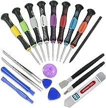 MMOBIEL Set d'outils Professionnel Universel 20 pièces : Spudgers, Pincettes, Racleur, Ventouse et Jeu de Tournevis