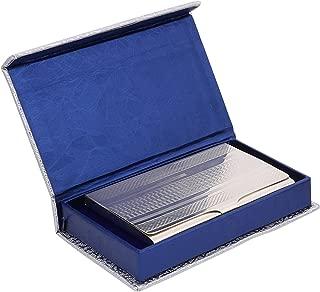 Osasbazaar Sterling Silver Visiting Card Holder Classy - 90%-92.5% Pure BIS Hallmarked