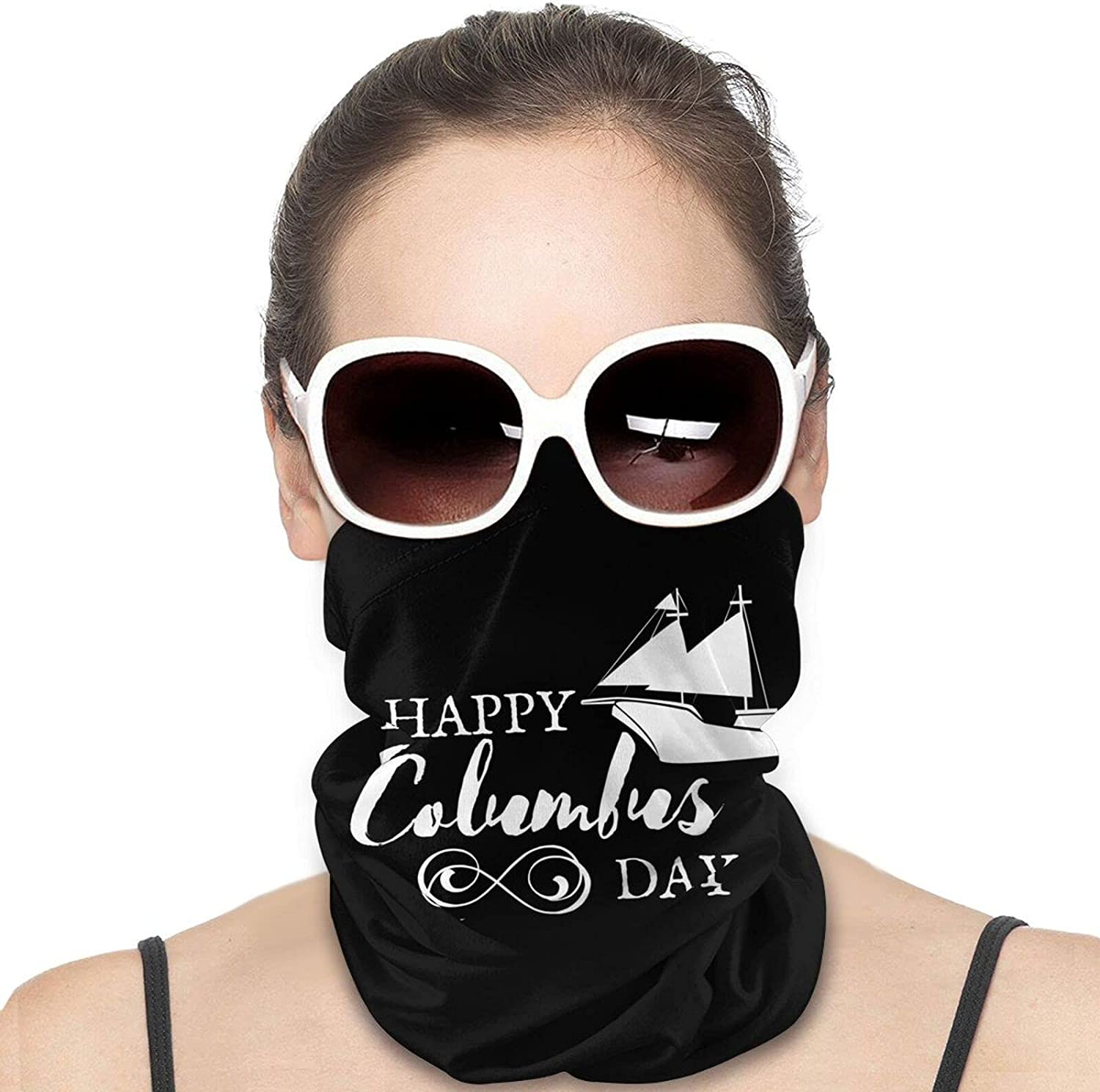 Regatta 2021 Columbus Day Round Neck Gaiter Bandnas Face Cover Uv Protection Prevent bask in Ice Scarf Headbands Perfect for Motorcycle Cycling Running Festival Raves Outdoors