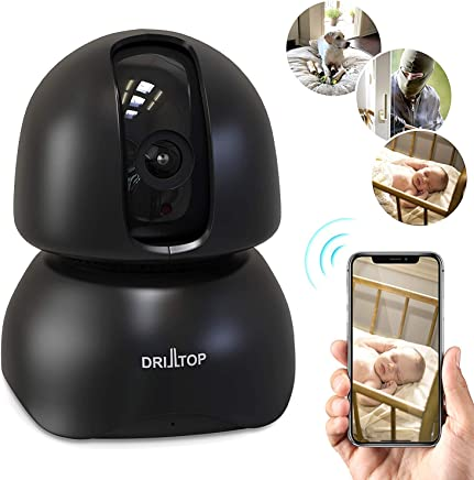 $39 » [Newest 2019] Wireless IP Surveillance Camera w/Night Vision - Baby Monitor or Security Camera - 1080p, Activity Detection - 2 Way Audio - Remote Monitor with iOS, Android App - Cloud Service