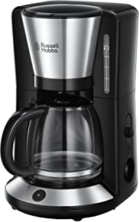 Russell Hobbs Machine à Café, Cafetière Filtre Familiale 1,25L, Maintien au Chaud, Technologie Stop Goutte - 24010-56 Adve...