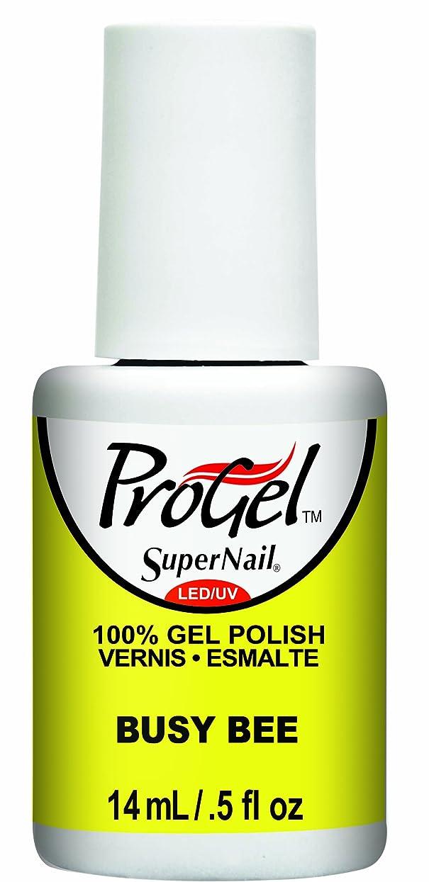 スピンエラー怒ってSuperNail ProGel Gel Polish - Busy Bee - 0.5oz / 14ml