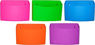 Inkology Color Rush Silicone Magnetic Locker Bin, Color May Vary (519-3)