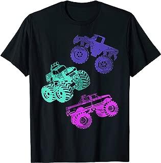 Girls Like Monster Trucks Too TShirt Women Monster Truck Tee