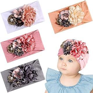 Baby Girl Headbands Turban Hairband Bow Head Wrap Hairband Baby Elastic Turban Headband Hair Accessories for Baby Girls