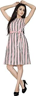 Vastra Soundarya Women's Knee Length Dress