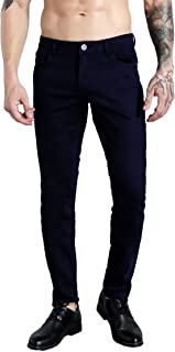ZLZ Men's Slim Fit Stretch Comfy Fashion Denim Jeans Pants