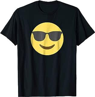 Cool Emoji Sunglasses Shirt - Smiling Black Shades T-shirt