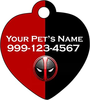 Deadpool Dogs Cats Personalized Number