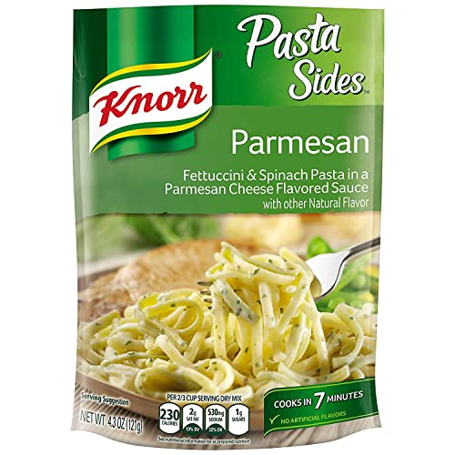 Knorr Pasta Sides, Parmesan, 4.3 oz