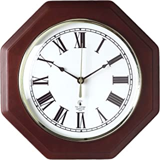Chicago Lighthouse Wall Clock, 12 Inch, Black