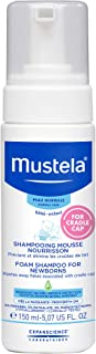 Mustela Foam Shampoo for Newborns, Baby Shampoo, Helps Prevent and Reduce Cradle Cap,..