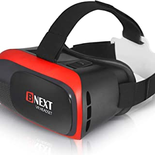 BNEXT VR Headset Compatible with iPhone & Android Phone - Universal Virtual Reality Goggles - Play Your Best Mobile Games ...
