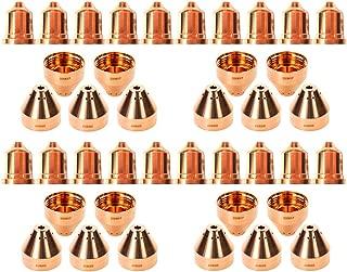 Jack&Dave 20PCS 220941 Plasma Tips 20PCS 220817 Plasma Tips Fit Hypertherm Powermax 65/85/105