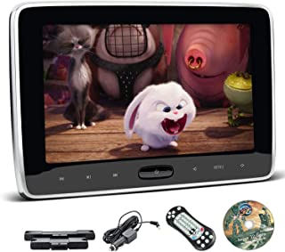 XTRONS 10.1 Inch Car DVD Player Portable Car Headrest CD Player for Kids with 2 Mounting Brackets Supports HDMI Input, USB...